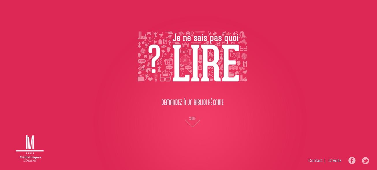 2013-10-02 12_34_37-Mediathèque de Lorient - Je ne sais pas quoi lire