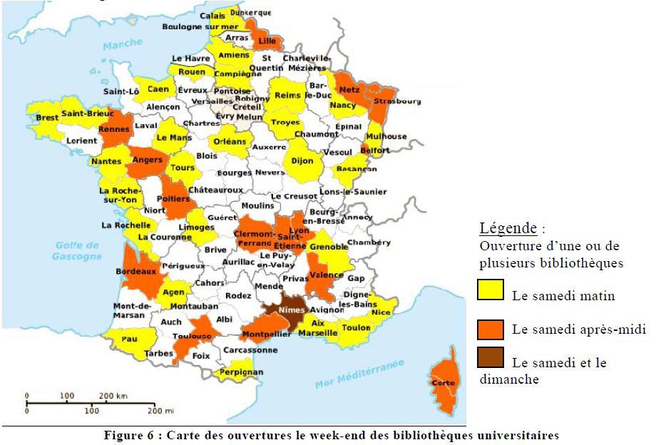 Carte Des Universités De France | popkensburg